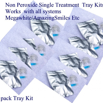 BASIC 10 PACK NON PEROXIDE TRAY SYSTEM SAVE £s