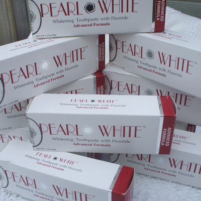 Single large Advanced pearl white paste