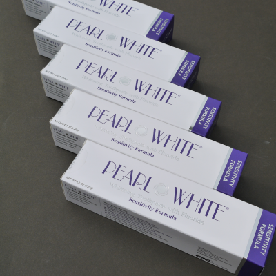 10 PACK  large sensitive pearl white paste